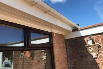 Fascias, Soffits and Gutters supplied and installed by Roofer and Builder Liverpool