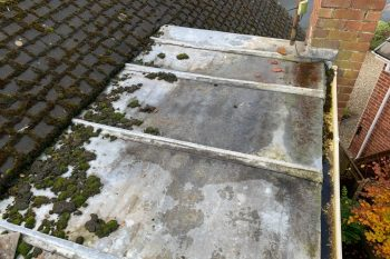 Local Roofers - Flat Roofs - Roofer and Builder Liverpool - Flat roof Replacement Before Pic