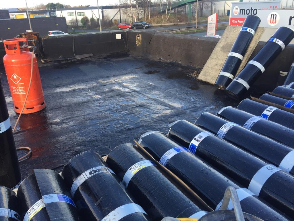 Flat Roof Repair & Replacement - Garage Roof Repairs Liverpool